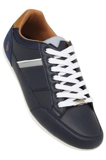 Buy U.S. POLO ASSN. Mens Leather Lace