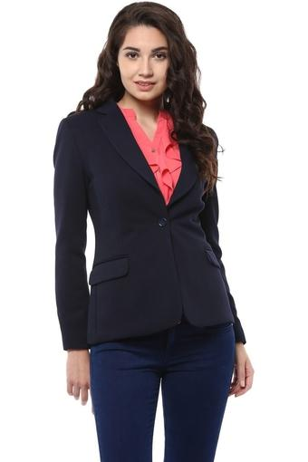 ALLEN SOLLY -  Black Formal Jackets - Main