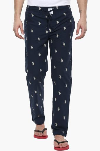 Mens 2 Pocket Printed Pyjamas