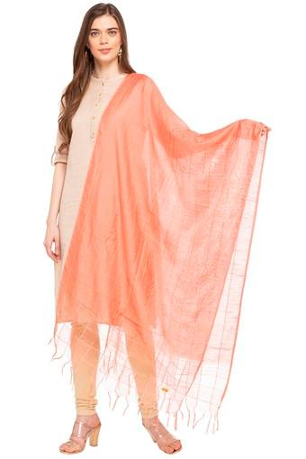 Womens Checked Dupatta
