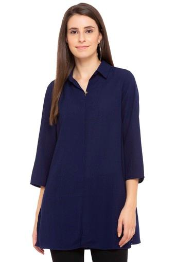 Womens Solid Tunic
