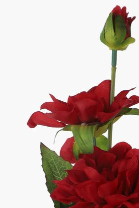 Zinnia Artificial Flower Stem