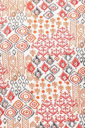 Womens Round Neck Printed Kurta