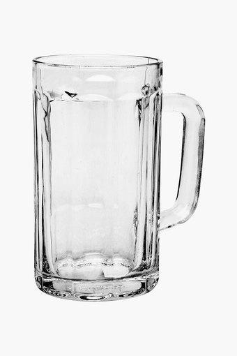 Round Transparent Beer Mug