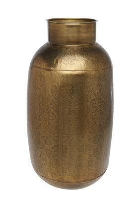 ADARAVintage Iron Etched Vase