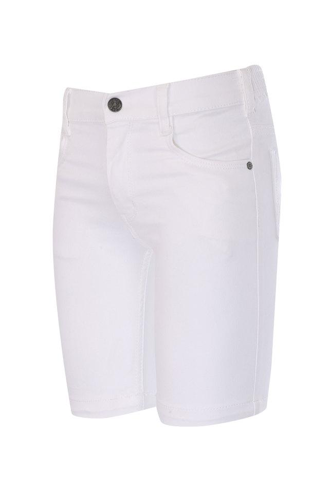Boys 5 Pocket Coated Shorts