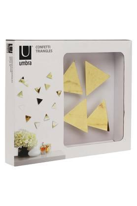 UMBRA Confetti Triangles Wall Decoration - 16 Pieces