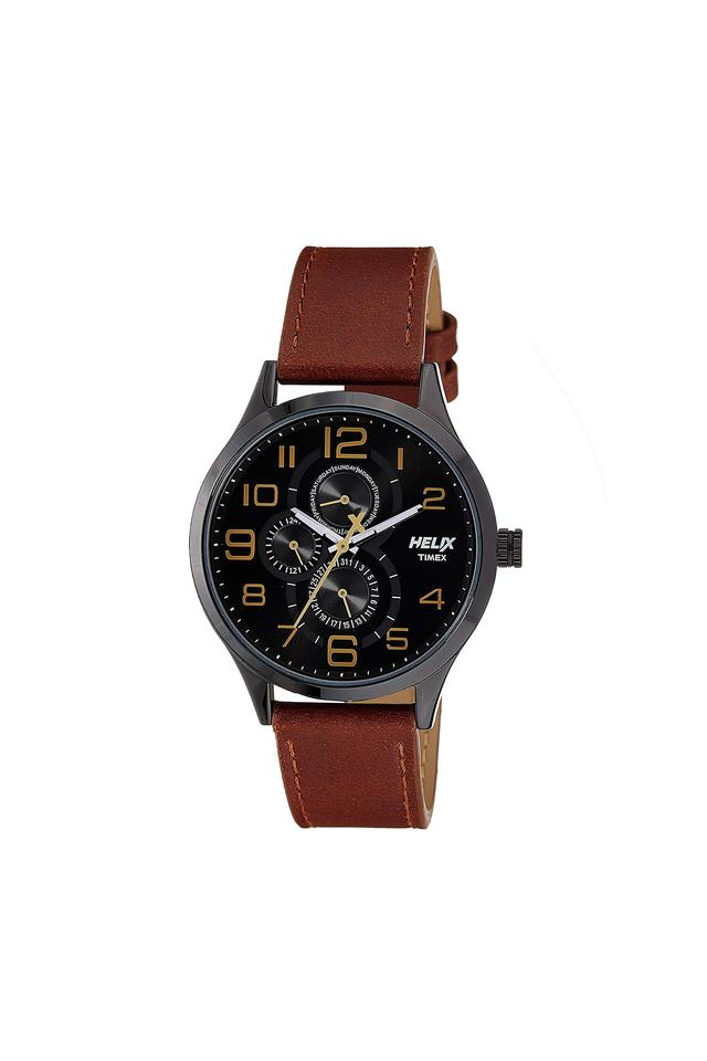 Mens Black Dial Analogue Watch - TW003HG11