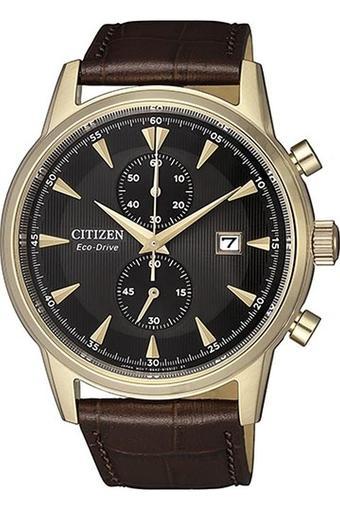 Mens Brown Dial Chronograph Watch - CA7008-11E