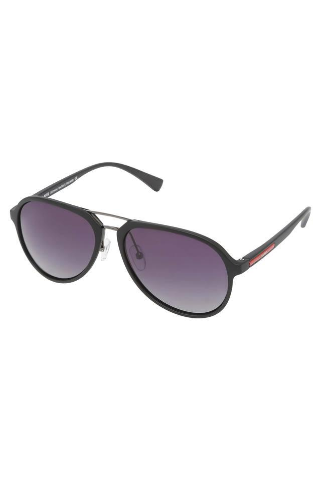 Unisex Full Rim Aviator Sunglasses - LI131C12