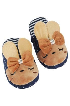 Rabbit Motif Bath Slippers