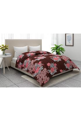 Floral Print Double Blanket