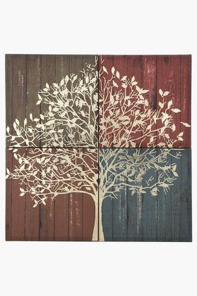 IVY 4 Piece Canvas Wall Painting