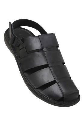 RUOSH Mens Casual Wear Velcro Closure Sandals