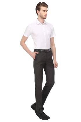STOP - WhiteFormal Shirts - 3