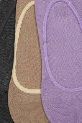 Womens Solid Socks - Pack of 3