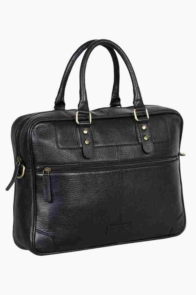 Mens Zipper Closure Laptop Sling Bag