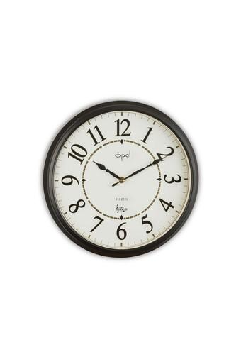 Round Analogue Wall Clock with Arabic Markers