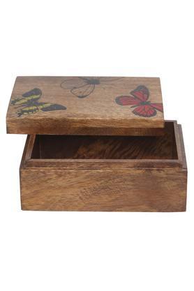 Butterfly Print Box - 10 x 15 x 5 cms
