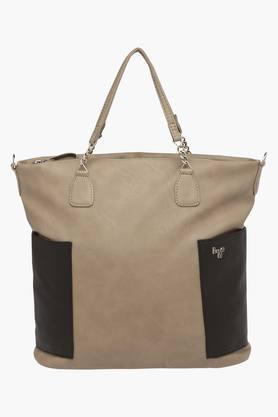 BAGGITWomens Casual Wear Zipper Closure Tote Handbag - 203012952