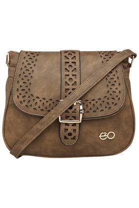E2OWomens Zipper Closure Sling Bag
