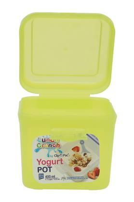 Square Solid Snack Pack Container - 400ml