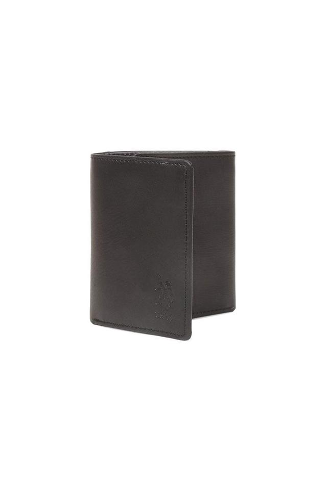 Mens Leather 2 Fold Wallet
