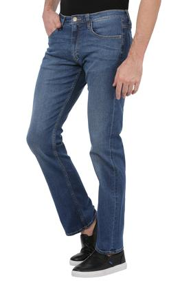 Mens 5 Pocket Mild Wash Rodeo Jeans