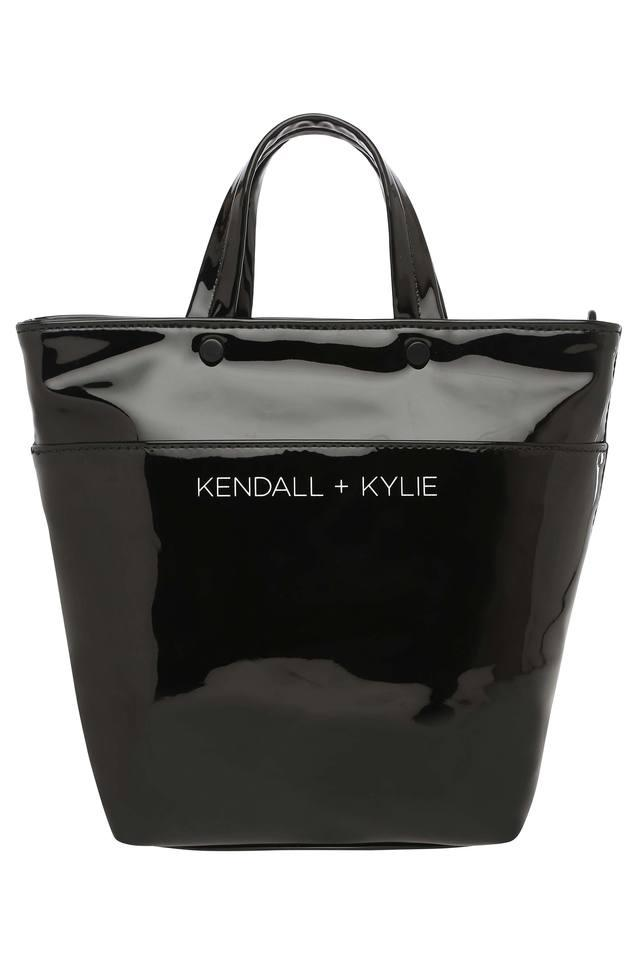 6bc619bfe037 Buy KENDALL + KYLIE Womens Mini Tote Handbag with Pocket