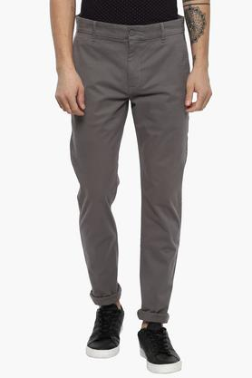 LEVIS Mens Slim Tapered Fit 4 Pocket Solid Chinos (512) - 203862538_9204