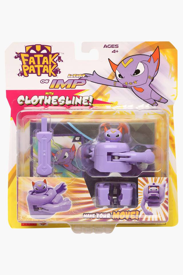 Unisex Alienoid Imp with Clothesline with Shooter