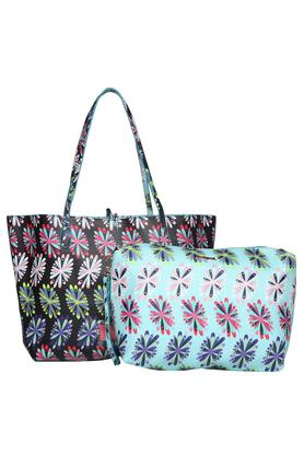 DESIGUAL Womens Tie Up Closure Tote Handbag