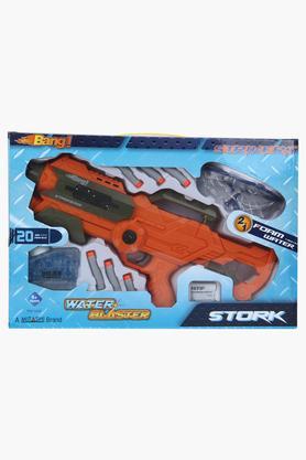 Unisex 2 in 1 Foam Bullet and Water Blaster Stroke Gun
