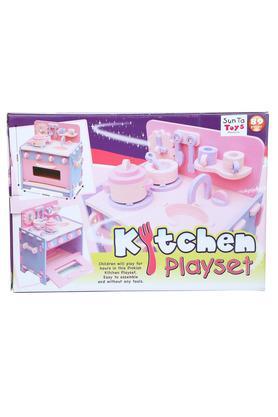 Kids Kitchen Playset - 89 Pcs