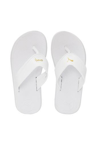 PUMA -  WhiteSlippers & Flip Flops - Main