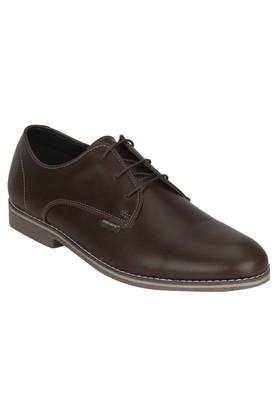 RED TAPE Mens Leather Lace Up Derbys - 203947390_9126