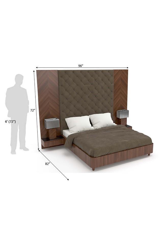 Brown Den Bed