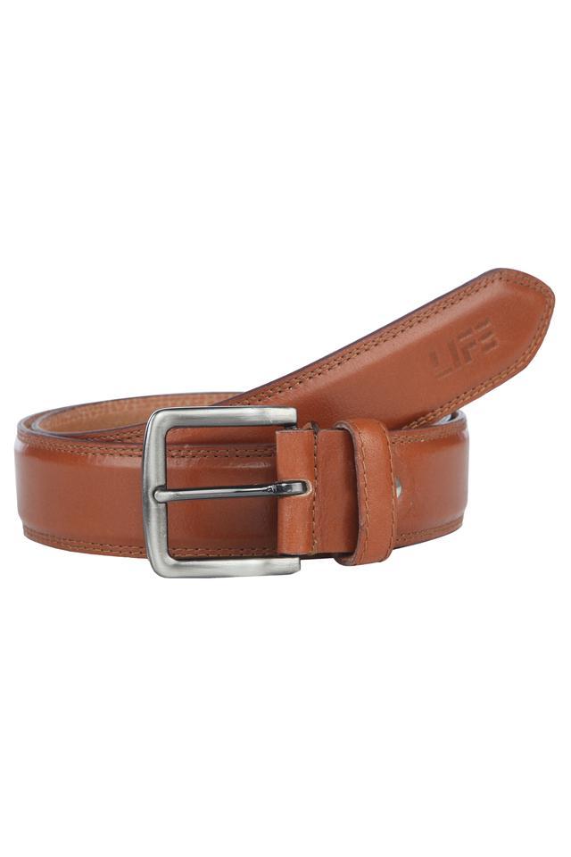 Mens Formal Buckle Closure Belt