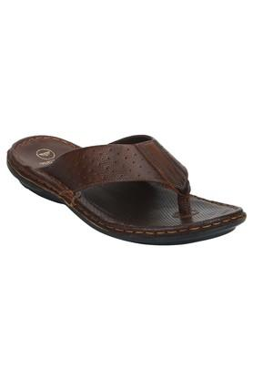 Mens Leather Casual Wear Slippers