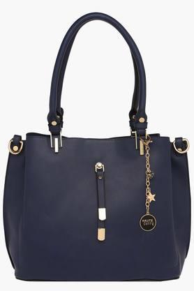 HAUTE CURRYWomens Zipper Closure Tote Handbag - 202722260
