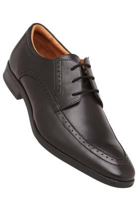 VENTURINI Mens Leather Lace Up Derbys - 204000282_9212