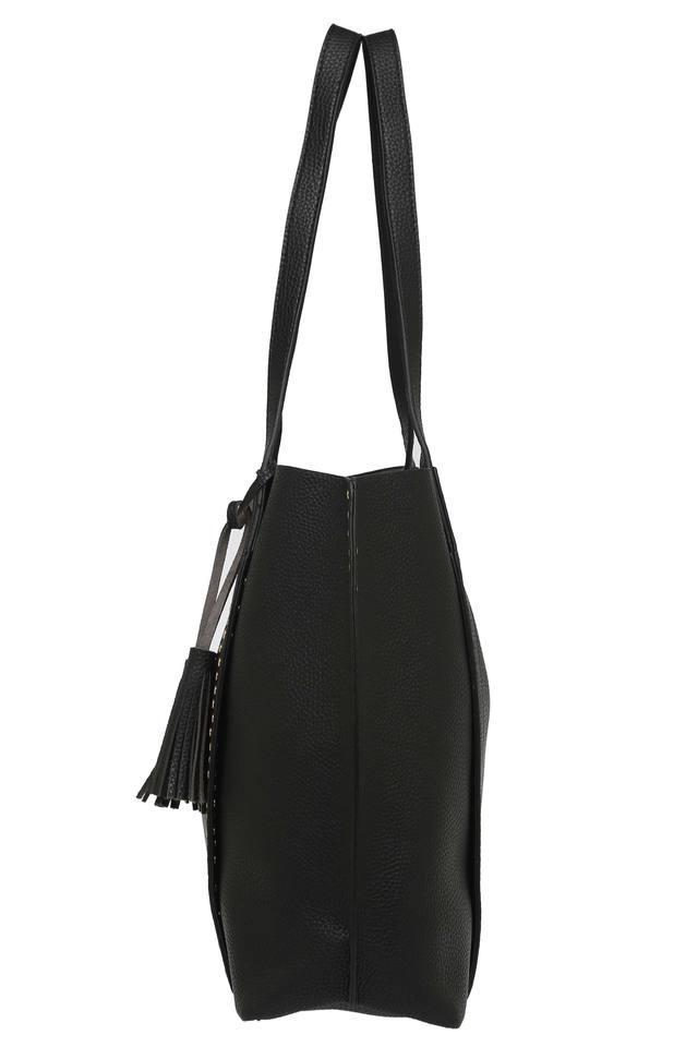 Womens Snap Closure Satchel Handbag