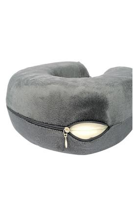 U Shape Memory Foam Neck Pillow - Cool grey