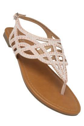 STEVE MADDENWomens Casual Wear Buckle Closure Flats - 203806856