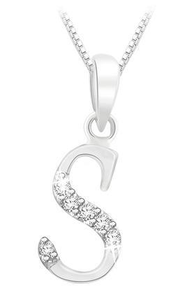 SILVER IMPRESSIONSparkles 18 Kt 0.03 Cts Diamond Pendant - P7819