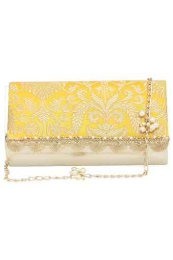 KASHISH -  Yellow Wallets & Clutches - Main