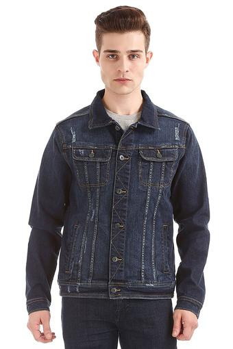 Mens Collared Casual Jacket