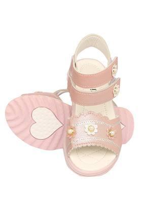Girls Velcro Closure Sandals