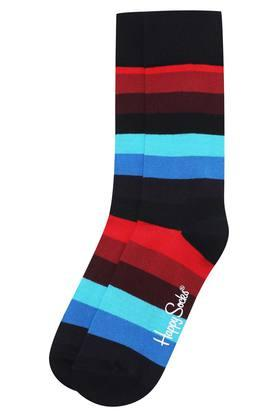 HAPPY SOCKS Mens Full Length Stripe Socks