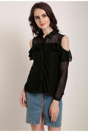 Womens Lace Casual Top